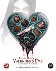 Alice: Madness Returns Valentine's Day Card by SpicyHorseOfficial