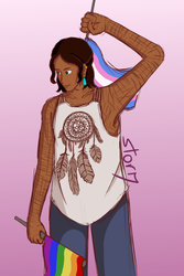 she/her/hers by Ahtilak