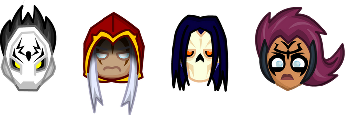 Chibi Darksiders by LegendaryFrog