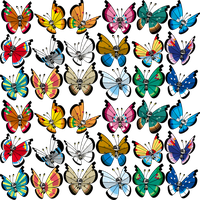 Shiny Vivillon Dream World by KrocF4