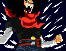 Android 17's Rage by Trixen