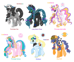 MLP Shipping Draw to Adopts 15 (CLOSED) by TearyIris