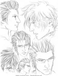 Ignis Sketchpage by Saimain