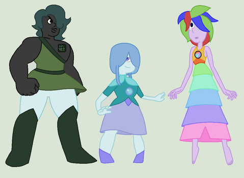 SPACE GEMS ADOPTS (1/3 OPEN) by enviousemisarry