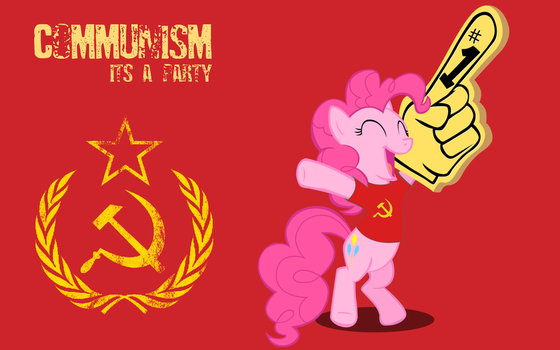 Communism is a party by RainbowTrixie