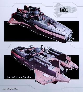 Recon Corvette Plecotus by KaranaK
