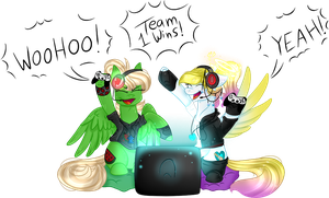 .:Collab:. [[The ultimate gamers]] by AngelLightYT