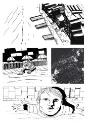 Page 1 ( unlettered) TED talk by tgcomicartist