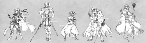 The Slayers - redesign - by deerlordhunter
