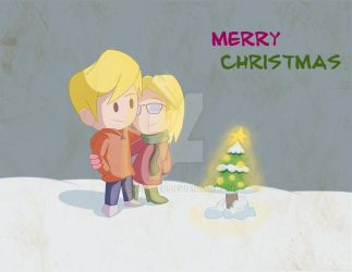 Merry Christmas DeviantArt by BoukenRed