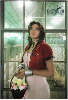 Final Fantasy VII AC : Aeris by beethy