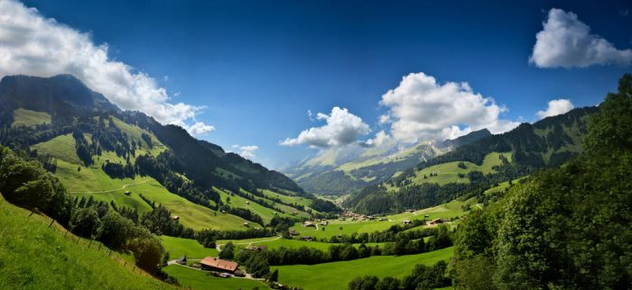 Swiss Panorama by cwaddell