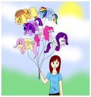 Lauren's Balloons by AlmostBlueKitty