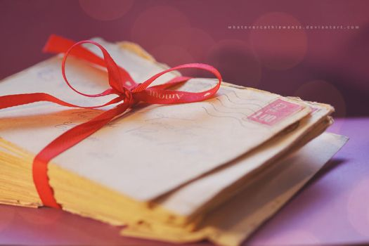 Our latest love letters... by Retaediamrem