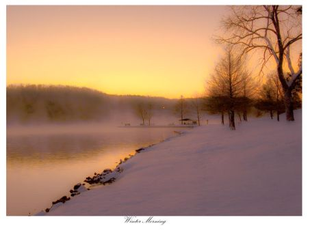 Winter Morning by yamiyalo
