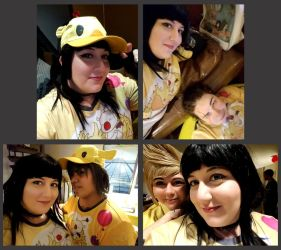 At the Chocobo Carnival by Azure-Rose-Cosplay