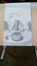 Art Class: Still life from March by JamieAgathaRose