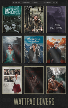 Wattpad Covers - PSD by sweetpoisonresources