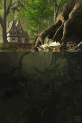 Above and Below by curious3d