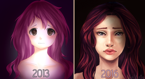 Draw This Again - 2013-2016 by JelArts