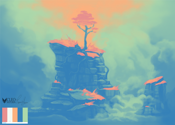 Colour Palette Challange - Spring by Kanoro-Studio