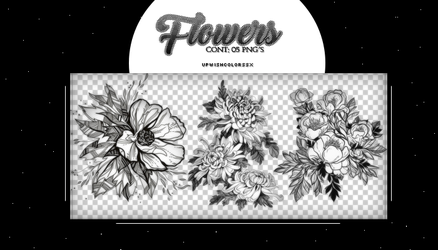 Recursos.FLOWER|PNG'S by Upwishcolorssx