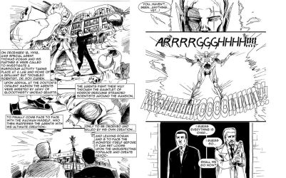 The House of the Dead comic spread 1 by aellise