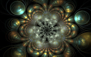 flower with circles by Andrea1981G