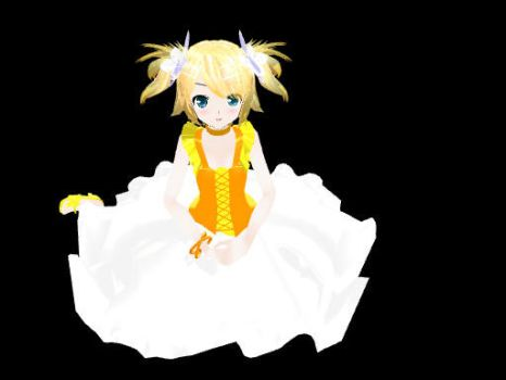 MMD Lat World is Mine Rin by midnighthinata