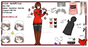 Salvationfell Frisk Ref by KiddoDrawsOficial