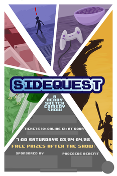 Sidequest Best Of Poster by Ramvling