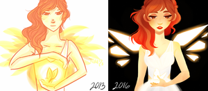 2013 vs. 2016 by TheGingerMenace123