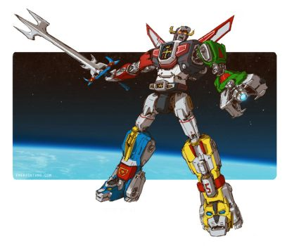 Voltron by emersontung