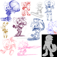 Kin concepts, other concepts, and doodles