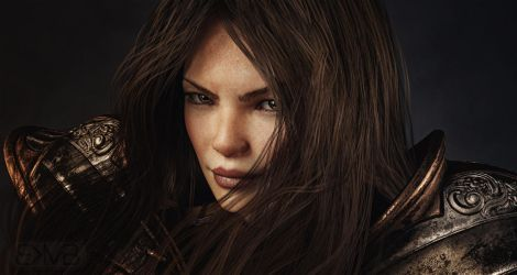 BrunetteWarrior v1.1 by kmcbriarty
