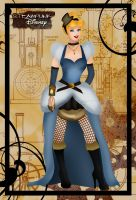 Steampunk Cinderella by HelleeTitch