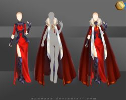 [Closed]Adoptable Outfit (Armor 1) by Anneysa