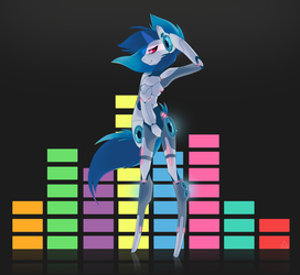 Vinyl Scratch 2.0 by Pon-ee