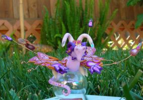 Purple wyvern ornament by Celtic-Dragonfly