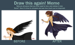 Doll this again! Meme (8 year Difference) by Rythea