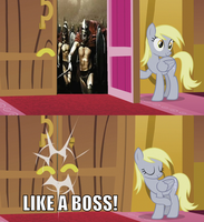 YOU SHALL NOT PASS! by LunaticDawn