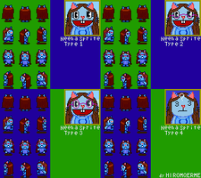 HTFMegaman Request - HTFF Neena Sprite by HIROMQERME