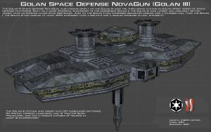 Golan Space Defense NovaGun [Golan III][New] by unusualsuspex