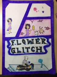 VioletOrange's Art Contest: FlowerGlitch by UndertaleMCSMfan24