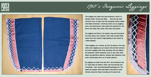Fashion - 1760's Iroquois Leggings by MauserGirl