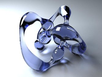 Glass Render Test with Vray by lhnova