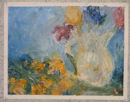 Still life with flowers by Kunsthaus