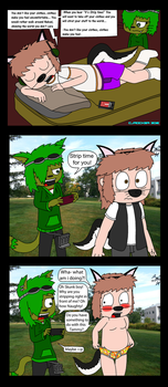 Humiliation Of SkunkBoy by Cj-The-Otter