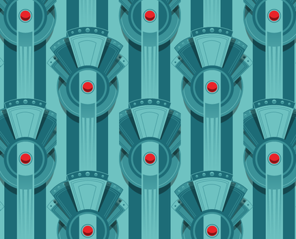Empire City pattern 1 by MikeMahle