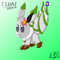 Eievui (contest entry) by Axial97